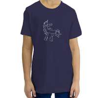 Magical Unicorn, Organic YouthT-Shirt (7 colors available)