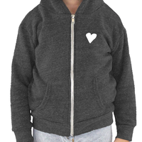 Toddler Triblend Fleece Zip Hoodie (7 colors available)