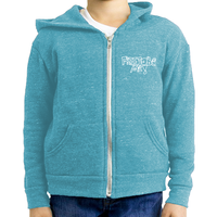 Free to be Me! - Youth Triblend Fleece Zip Hoodie (5 colors available)