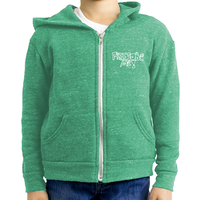 Free to be Me! Youth Triblend Fleece Zip Hoodie