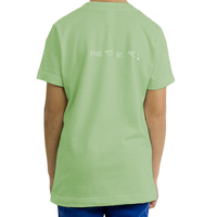 Organic Youth Unisex T-Shirt, FREE TO BE ME! (6 colors available)
