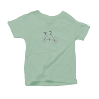 Evolve Bicycle, Organic Toddler Unisex T-Shirt (4 colors available)