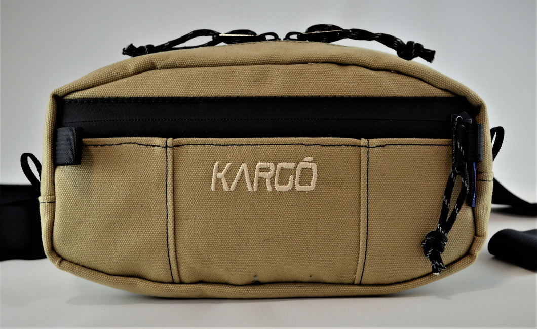 Kargo 2.2L Canvas Mini Hip Pack
