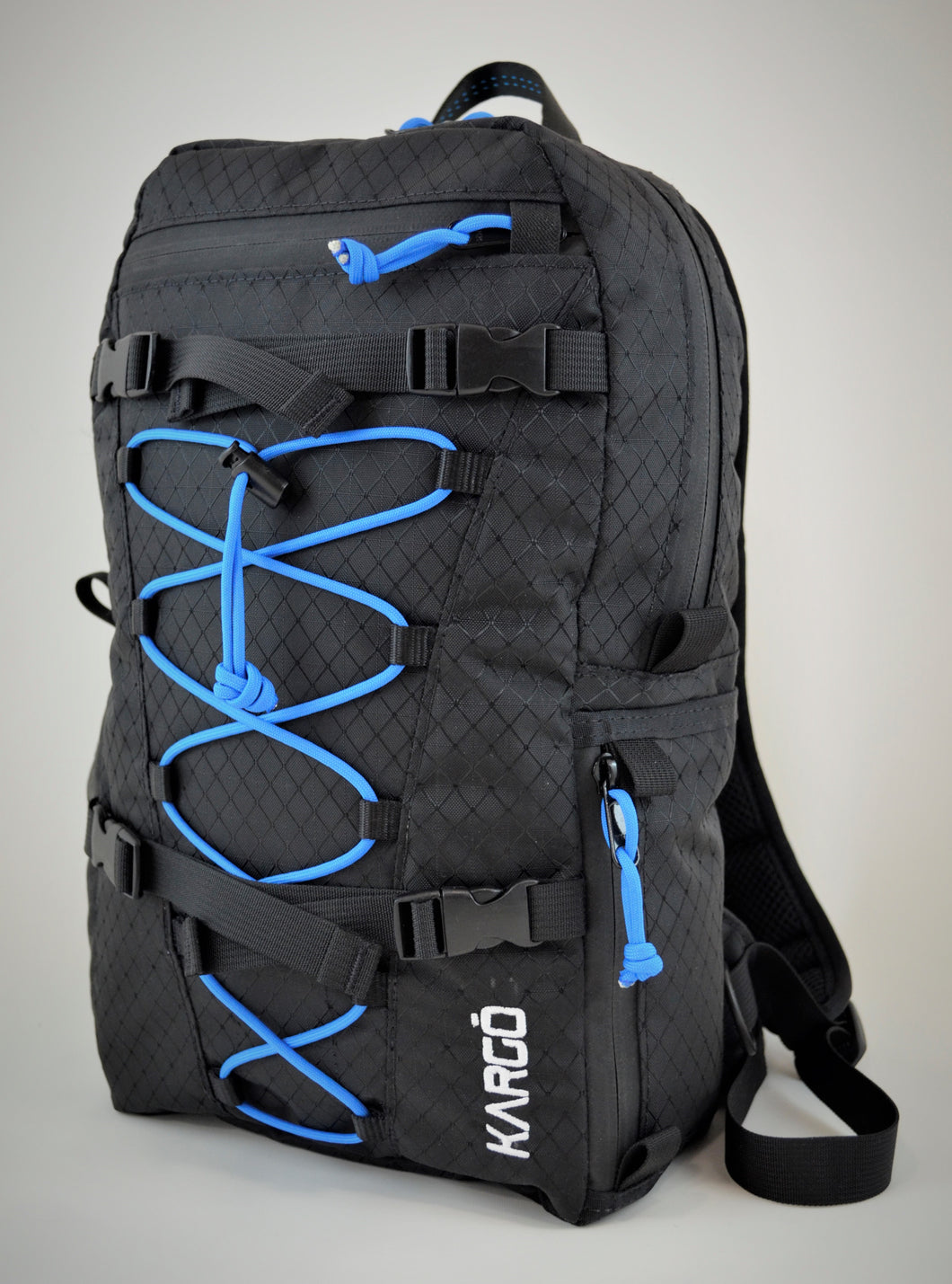 Rumbo DayPack - Black w/ Blue Cord
