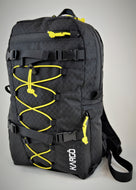 Rumbo Daypack - Black w/ Yellow Cord