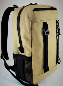 Tan Canvas Senda 21L Backpack