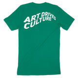 Art Drives Culture Green Tee