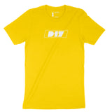 Art Drives Culture Yellow Tee