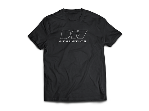 Black Nike D17 Athletics Tee