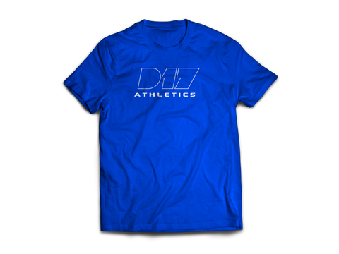 Blue Nike D17 Athletics Tee