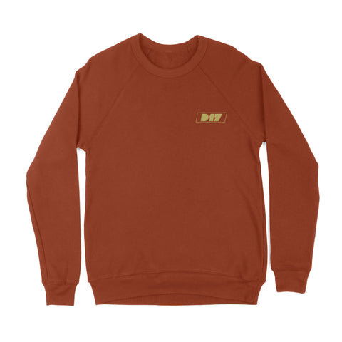 D17 Friends and Family Crewneck Brick