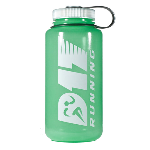 D17 Running 32 oz. Water Bottle - Glow In The Dark
