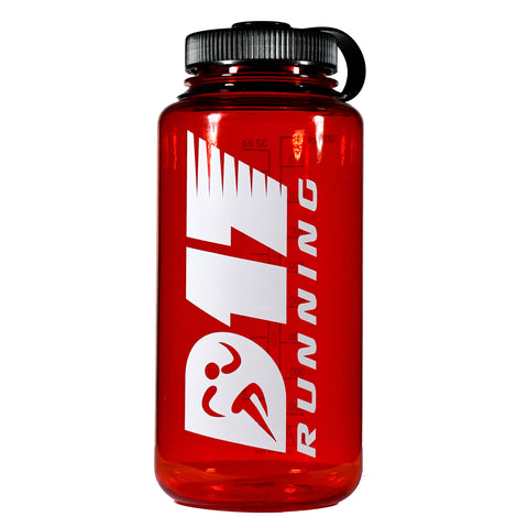 D17 Running 32 oz. Water Bottle - Red