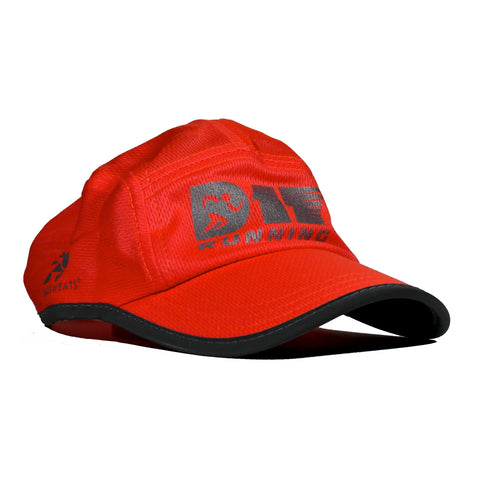D17 Running Reflective Race Hat - Coral