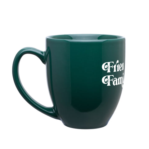 D17 Friends and Family Bistro Mug - Forest Green