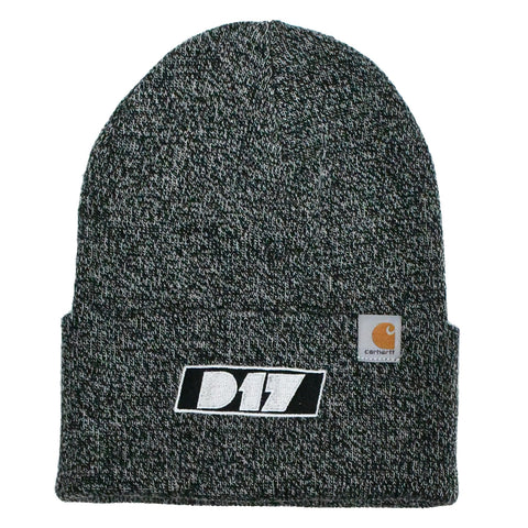 Carhartt-D17 Watch Cap - Black/White