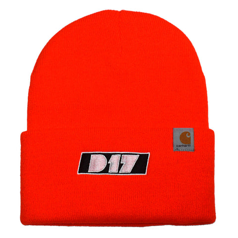 Carhartt-D17 Watch Cap - Orange