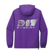 D17 Running Packable Windbreaker - Purple