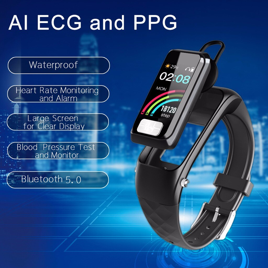 Smart Watch Sports Fitness Heart Rate Tracker