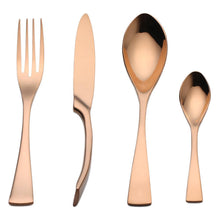 Load image into Gallery viewer, Rose Gold Kaya Silverware - TheBrainyHouse