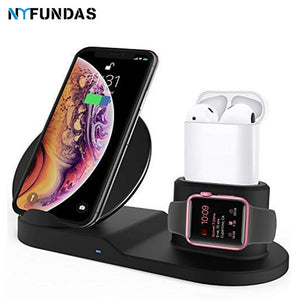 3 in 1 Fast Wireless Charger - TheBrainyHouse
