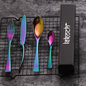 Rainbow Kaya Silverware - TheBrainyHouse