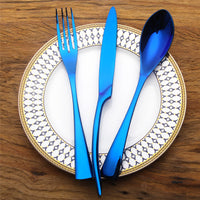 Blue Kaya Silverware - TheBrainyHouse