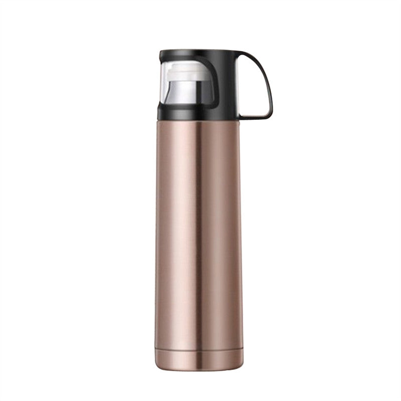 Stainless Steel Travel Thermoses - TheBrainyHouse