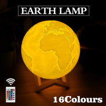 Load image into Gallery viewer, 3D Earth Lamp - TheBrainyHouse