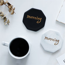 Load image into Gallery viewer, Morning Marble Coaster Cup Mats - TheBrainyHouse