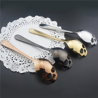 Stainless Steel Sugar Skull Spoons - TheBrainyHouse