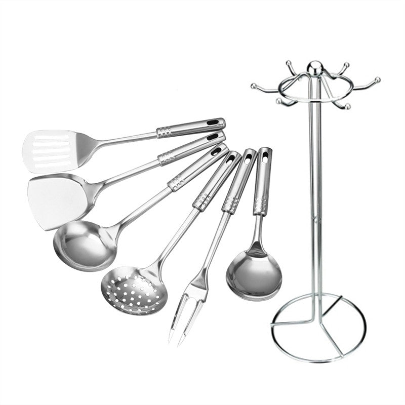 Stainless Steel Cooking Tools (7PCs) - TheBrainyHouse
