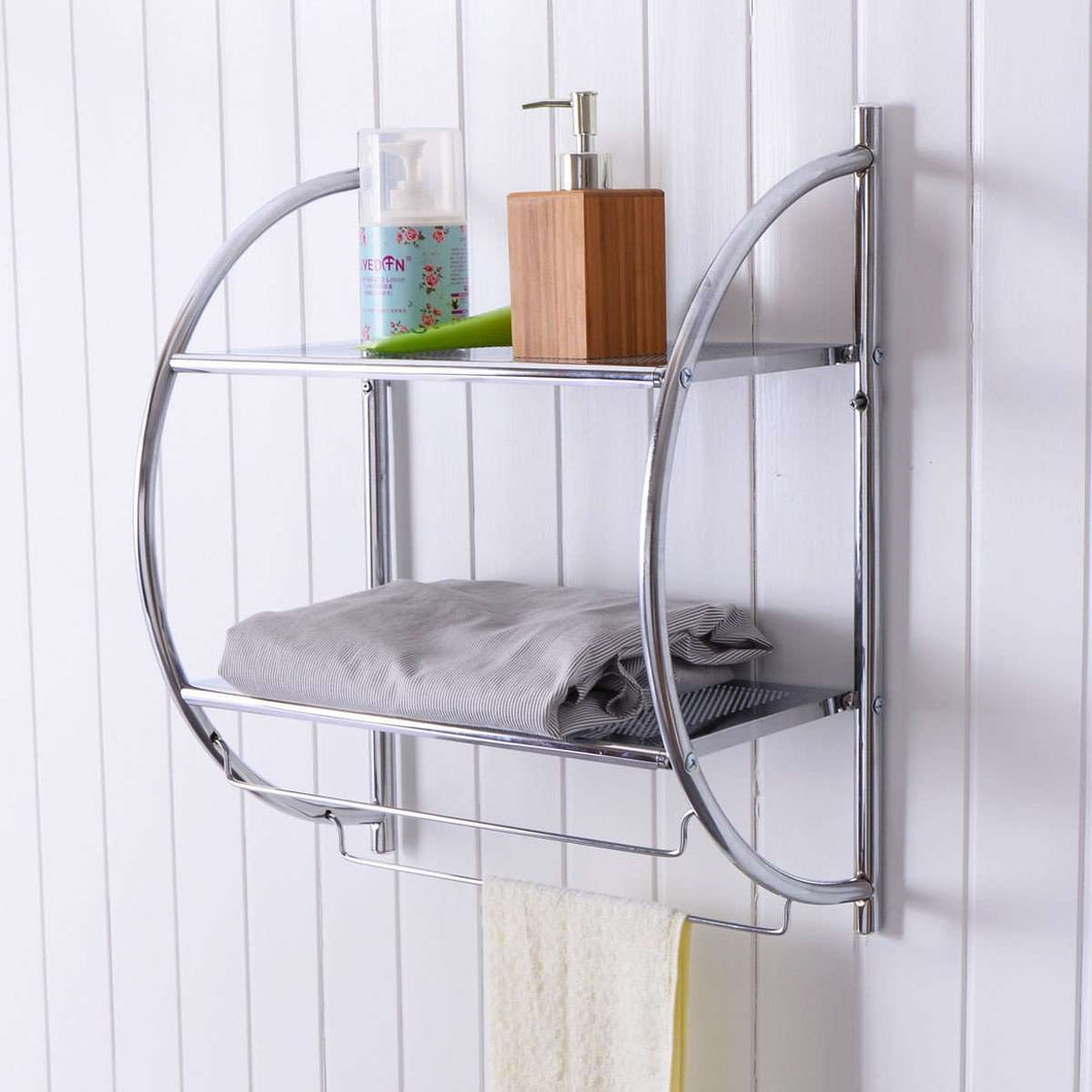 Wall Mount Shower Organizer - TheBrainyHouse