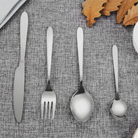 Silverware Stainless Steel Set (24PCs) - TheBrainyHouse