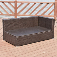Load image into Gallery viewer, Patio Rattan Cushioned Furniture Set (4PCs) - TheBrainyHouse