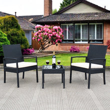 Load image into Gallery viewer, Outdoor Rattan Patio Furniture Set (3PCs) - TheBrainyHouse