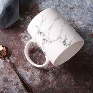 Marble Effect Ceramic Mug - TheBrainyHouse