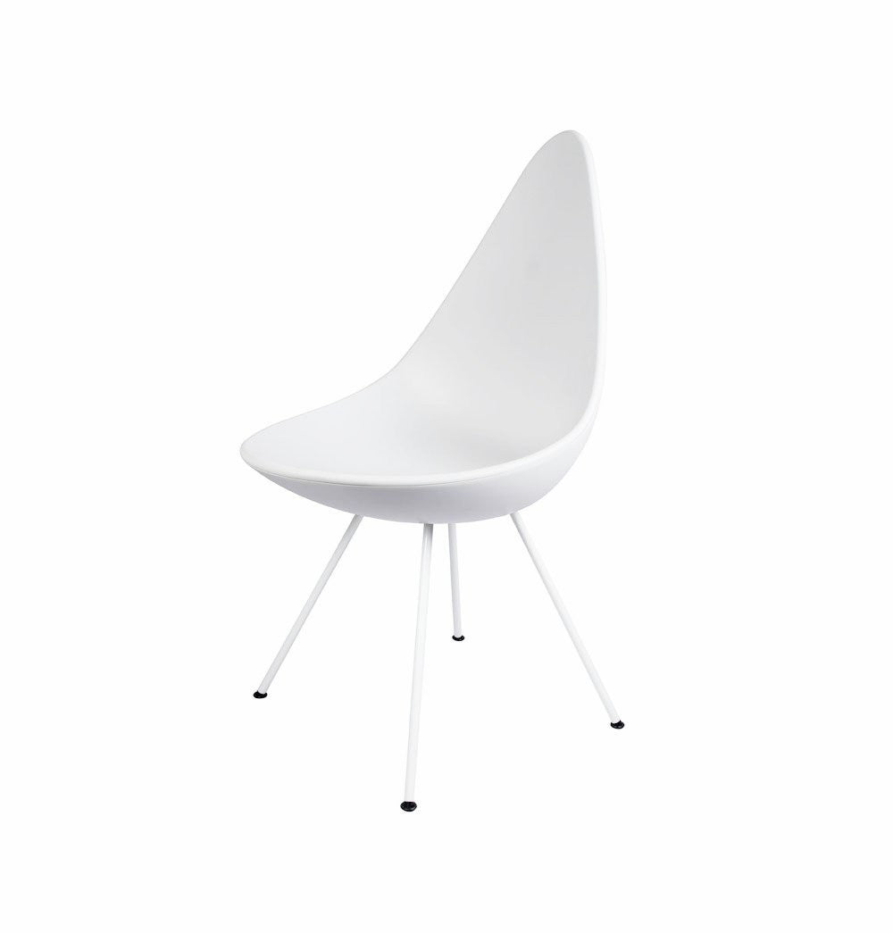 Drop Chair - White - Reproduction - TheBrainyHouse