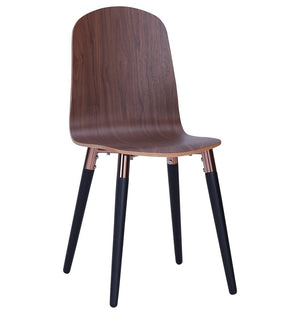 Vesta Dining Chair - Walnut - TheBrainyHouse