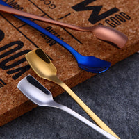 Long Handle Spoons Flatware - TheBrainyHouse