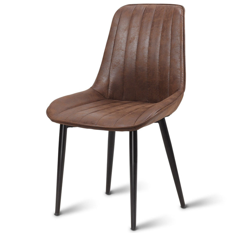 Modern Leisure Dining Chair Accent Armless Chair - TheBrainyHouse