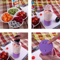 500ml Portable Smoothie Blender - TheBrainyHouse