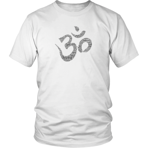 Positive Om Shirt - White