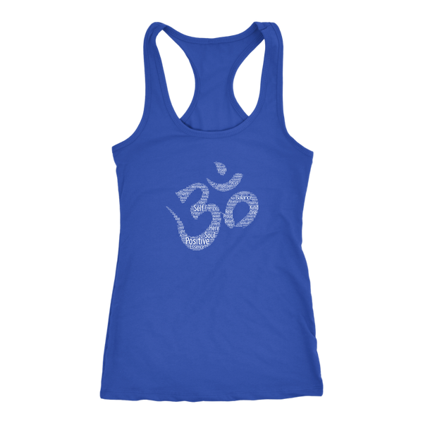 Positive Words Om Women's Tank