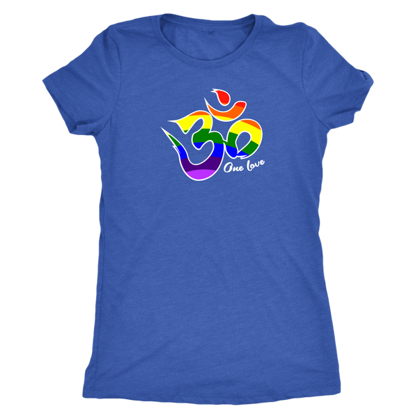 One Love Om Women's Fitted T-Shirt