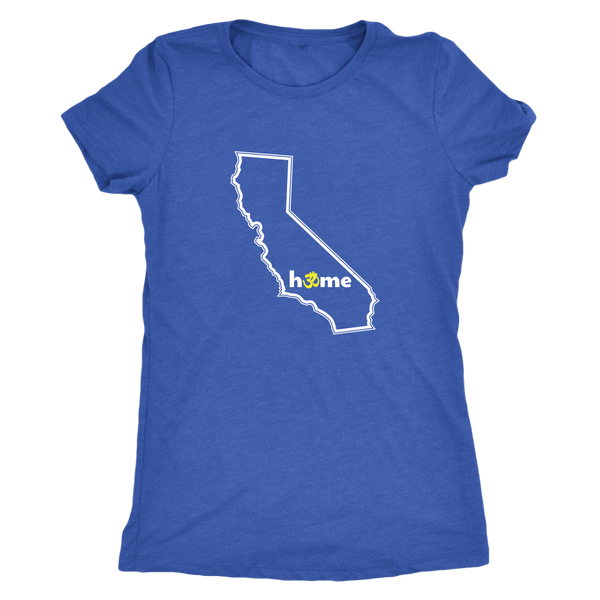 California Om Women's Fitted T-shirt