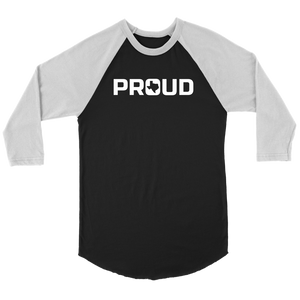 Texas Proud Baseball Tee