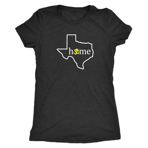 Texas Om Women's Fitted T-Shirt