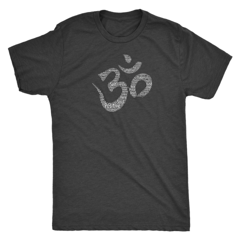 Positive Words Om Men's T-Shirt