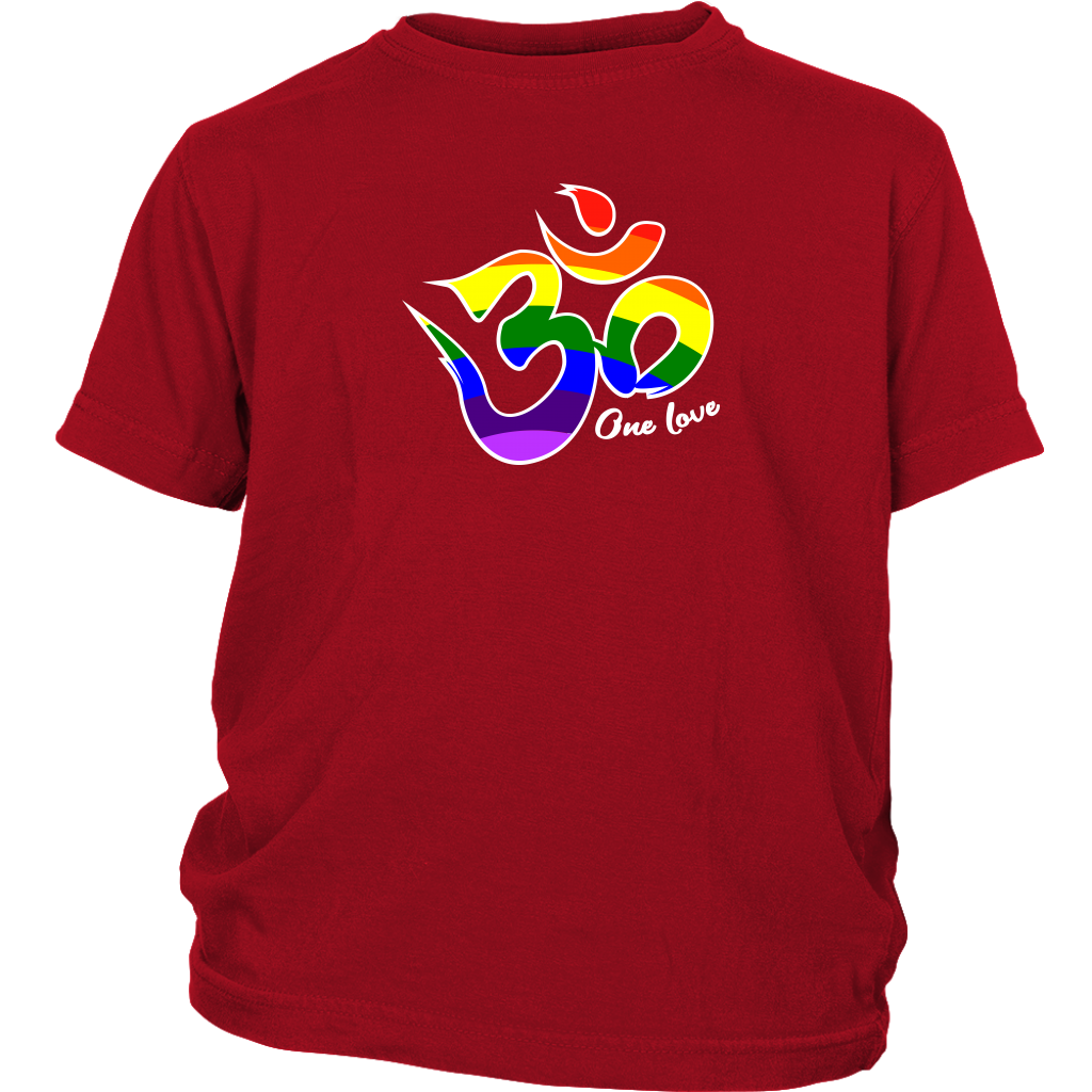 One Love Om Youth T-Shirt